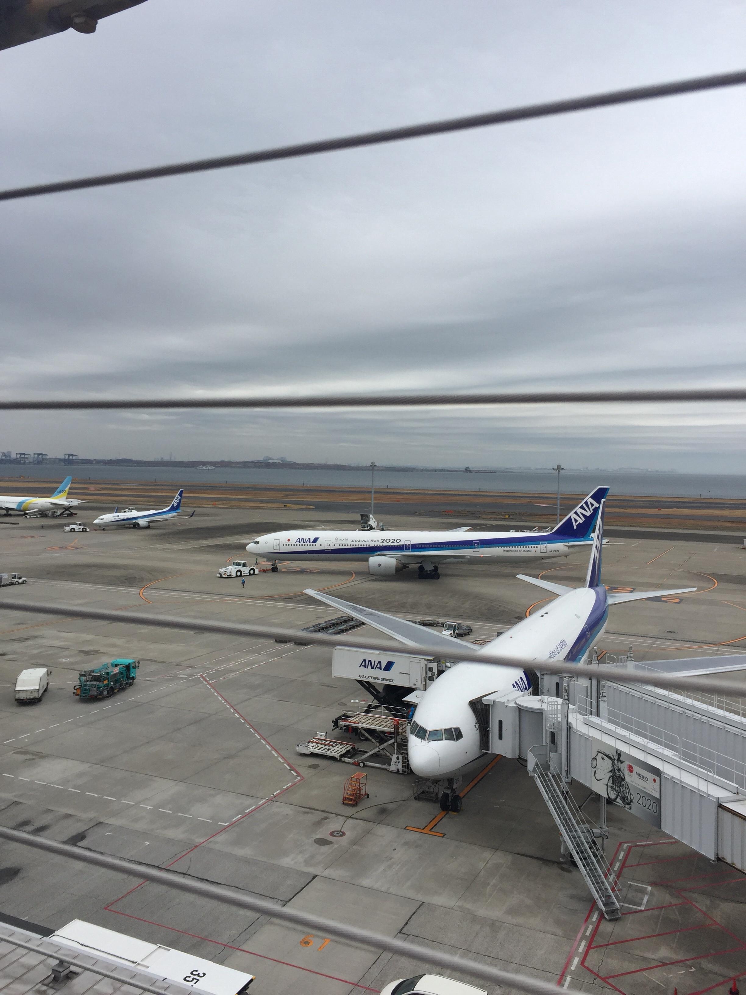 羽田空港で飛行機がよく見えるスポット
