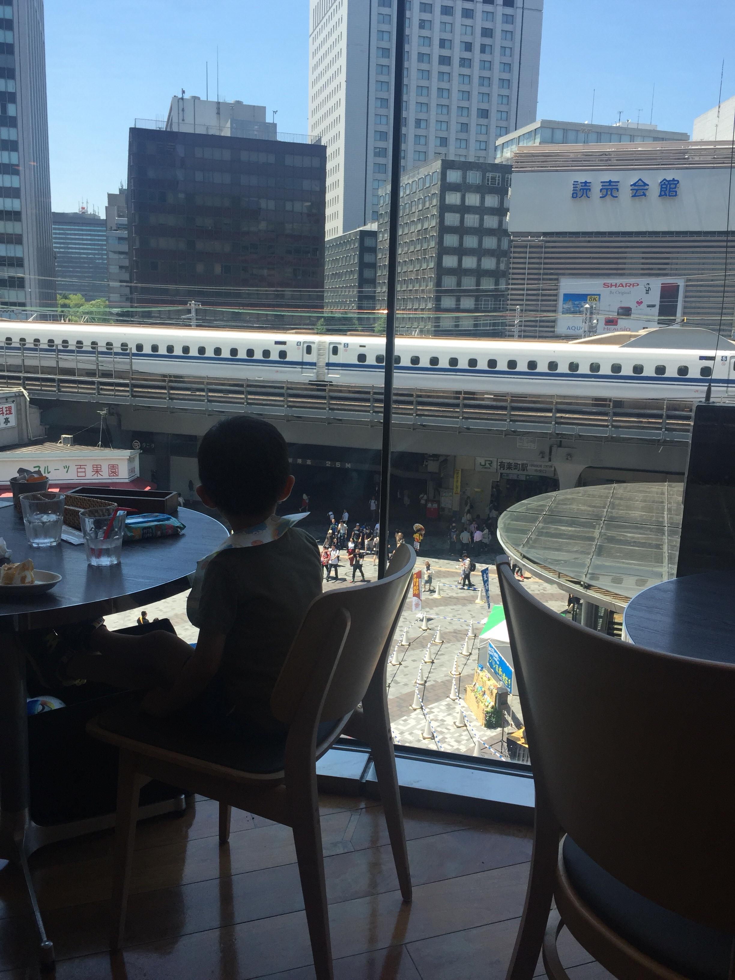 有楽町で子連れOKのカフェ3選