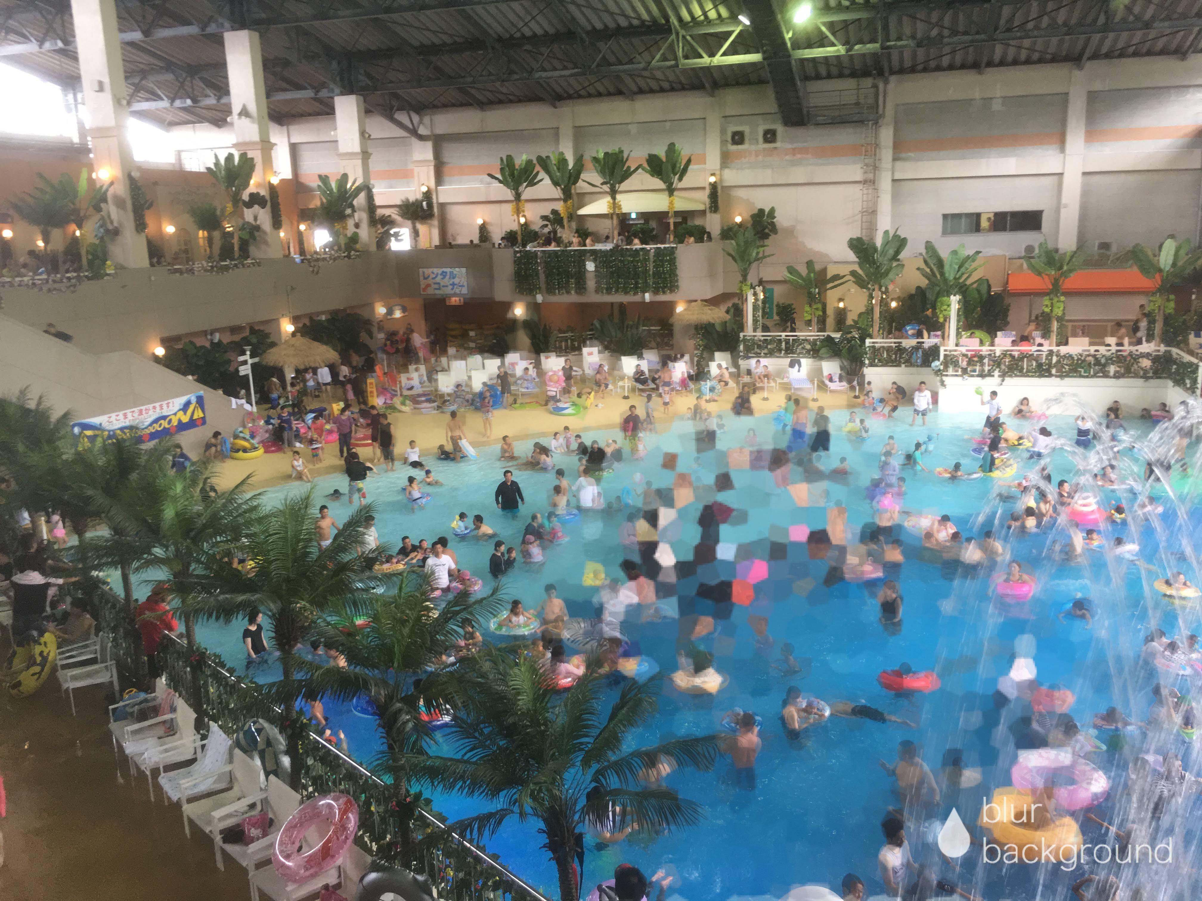 【大分】杉乃井ホテルのプール『アクアビート』『アクアガーデン』がすごい!
